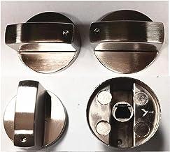 MIAOMIAO Type A / 0 graad 8 mm 4 STUKS Roterende schakelaar Gaskachel Onderdelen Gaskachel Knop Zinklegering Ronde Knop me...