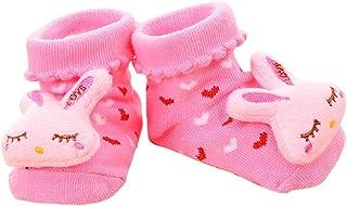 VIccoo, VIccoo Calcetines Bebe, Antideslizante Algodón Nacido Infantil de Dibujos Animados Zapatillas de Animales Botas Unisex - 2
