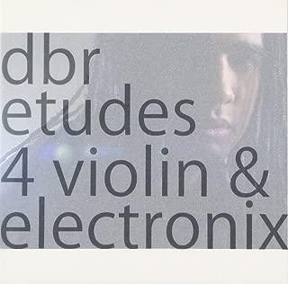 バイオリンとエレクトロニクスのためのエチュード