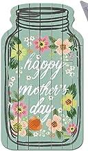 Happy Mother's Day Mason Jar Signs, rustieke decoratieve wandhangende plaque, stevig houten bord voor kantoor, thuis, koff...