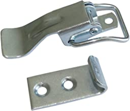 2x Cierre de pestillo cerradura de resorte picaporte W16mm L60mm para cajas cajones muebles C42257 AERZETIX