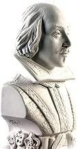 Modern Souvenir Co. William Shakespeare Statuette - Famous Faces Collection Plaster Bust