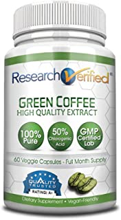 green coffee bean research verified