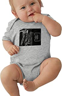 Eminem Rap Hip-hop Baby Girl Climb Cute Onesies Black