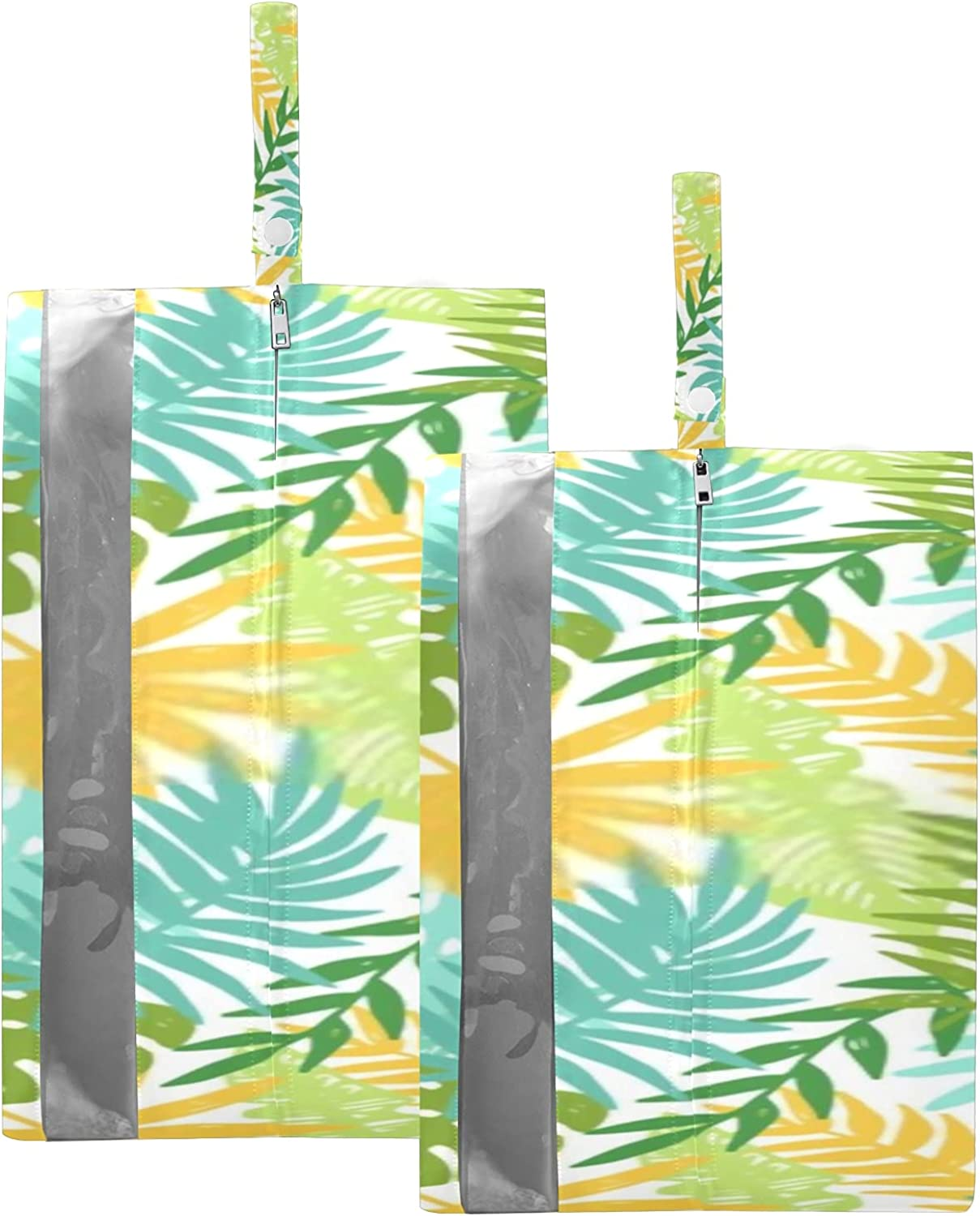 Waterproof Travel Large-scale sale Shoe Bag Pack Phoenix Mall Colorful Z Plants Hawaii Hand An