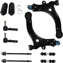 Detroit Axle - New 10-Piece Front Suspension Kit - (2) Front Lower Suspension Control Arms, Pair (2) Lower Ball Joints, Pair (2) Stabilizer Sway Bar Links, All (4) Outer and Inner Tie Rod