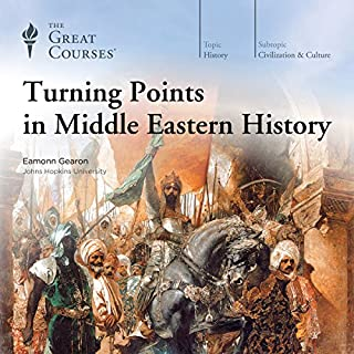 Turning Points in Middle Eastern History audiobook cover art
