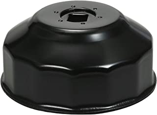 Sangmei 76 mm x 14 Chave de fenda óleo ferramenta removedor de tampa tipo soquete compatível com Audi BMW Mercedes VW Pors...