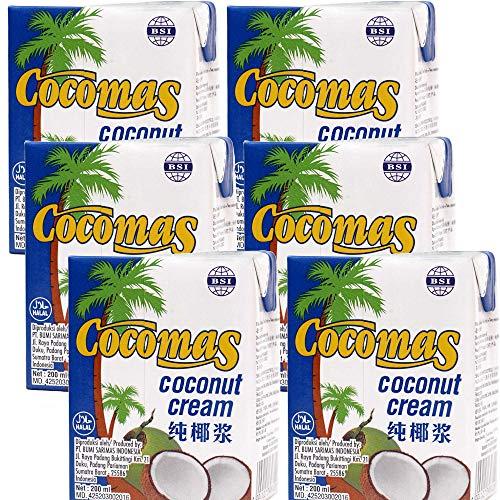 Cocomas Kokoscreme 200ml 6er pack