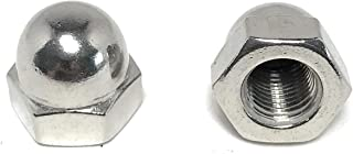 3/8-24 Acorn Cap Nuts 18-8 Stainless Steel - Fine Thread UNF (10 Pieces)