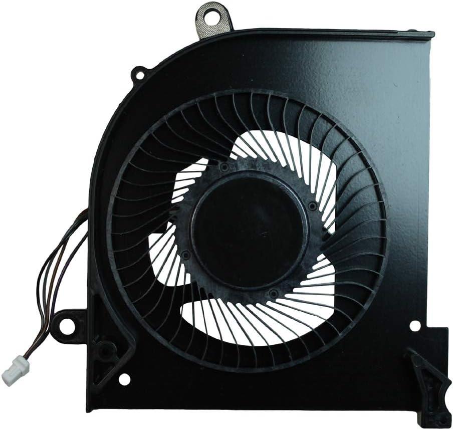 Power4Laptops Ventilador CPU para Ordenadores portátiles Compatible con MSI Gaming GS65 Stealth Thin 8RF