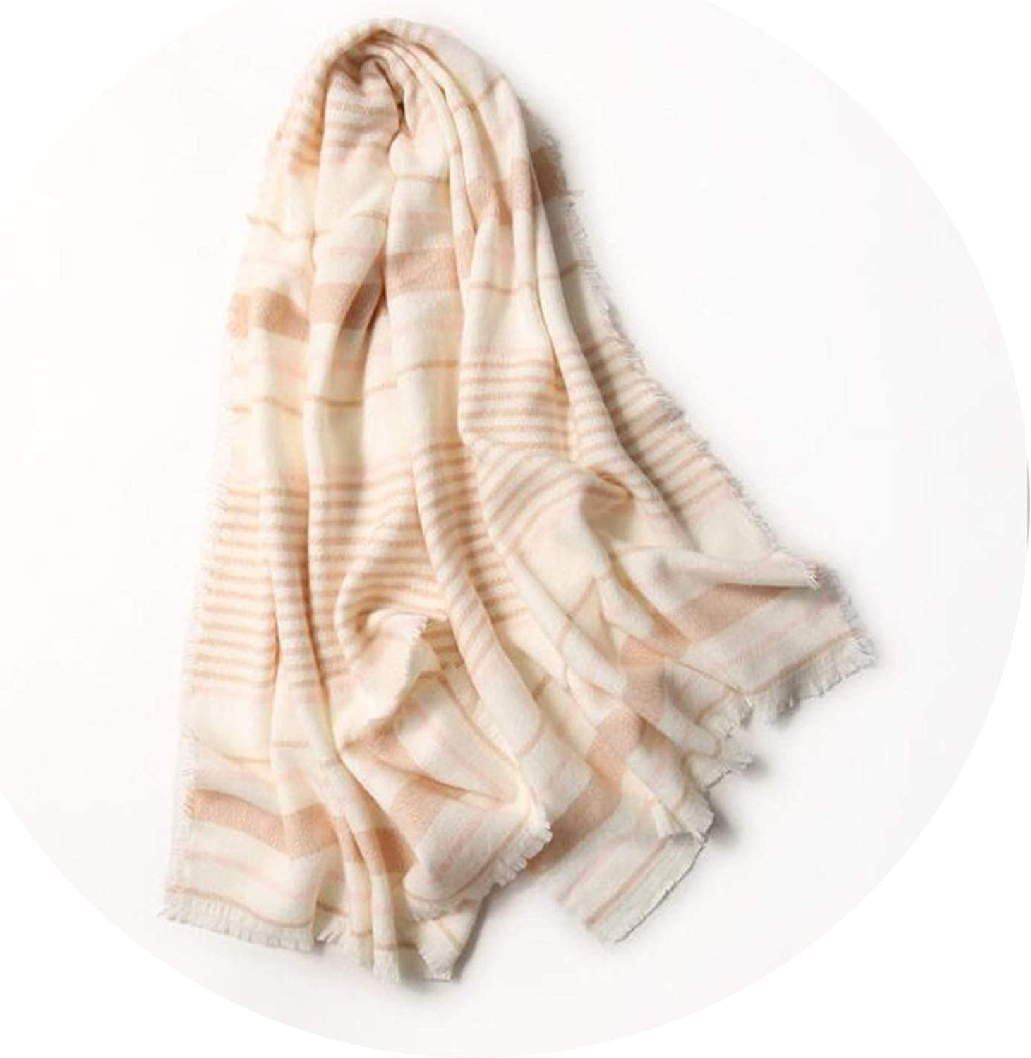 Casual Solid Warm color Women Cashmere Scarves Shawl Autumn Warm Winter Woman Scarf Wraps,pink