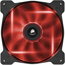 230mm red led fan