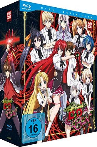 Highschool DxD: BorN - Staffel 3 - Vol.1 - [Blu-ray] mit Sammelschuber [Limited Edition]