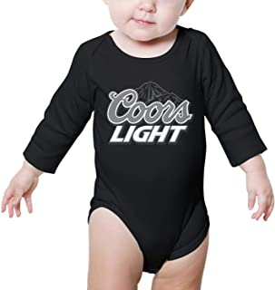 Long Sleeve Newborn Clothing coors-Light-Bill-Coors- Cute Onesies
