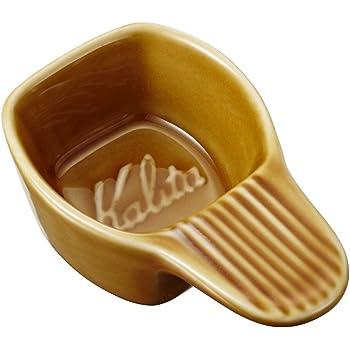 カリタ Kalita コーヒーメジャー 陶器製 パステルブラウン #44005