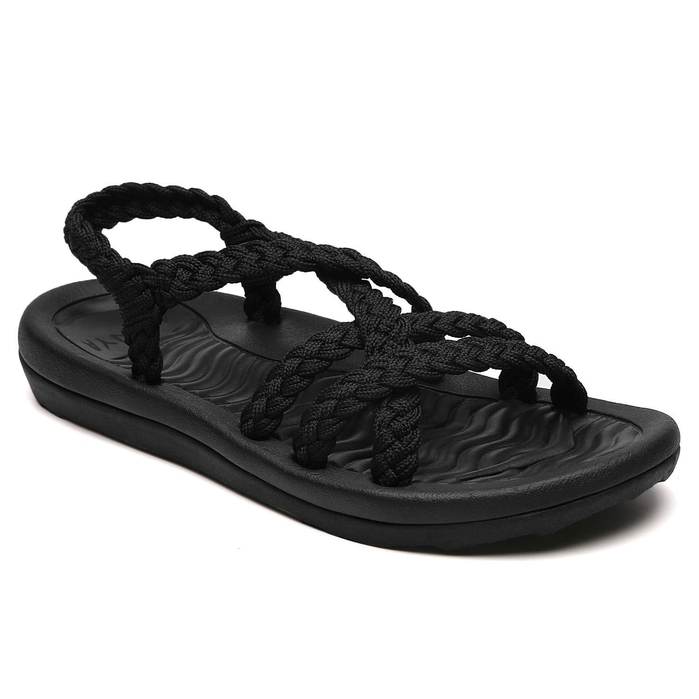 MEGNYA Comfortable Walking Waterproof ZDKDME01 Black 9 W6