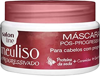 Linha Tratamento (Meu Liso) Salon Line - Mascara Pos-Progressiva #Progressivado 300 Gr - (Salon Line Treatment (My Straight) Collection - #Blowout Post-Blowout Mascara Net 10.58 Oz)