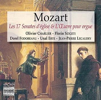 Mozart: The 17 Church Sonatas & The Complete Organ Works (Les 17 sonates d'église & L'œuvre pour orgue)