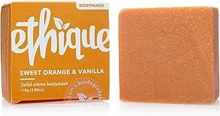 Ethique Eco-Friendly Crème Bodywash Bar for Sensitive Skin, Sweet Orange & Vanilla - Sustainable Hydrating Soap Free Bodyw...