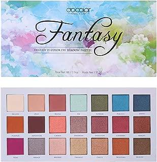 Docolor Eyeshadow Palette 21 Colors Eye Shadow Matte Glitter Highly Pigmented Long Lasting Waterproof Professional Makeup Palette
