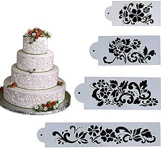 Best cake border stencils Reviews