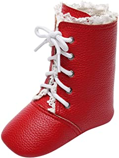 ❤Winter Boots for Girls Boys Crib Prewalker Warm Shoes Martin Boots(Infant/Toddler)