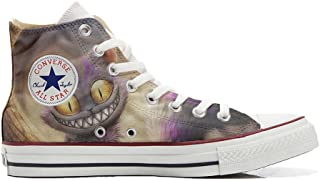 Zapatillas All American USA – Base Type Star Unisex – Estampado Vintage 1200 dpi – Estilo Italiano – Zapatos Personalizado...
