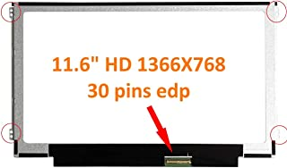 FULLCOM New 11.6 inch Screen Compatible with IDEAPAD 100S SERIES Replacement Screens also fit B116XTN02.3 N116BCE-EB1 N116BCA-EB1 N116BCE-EA1