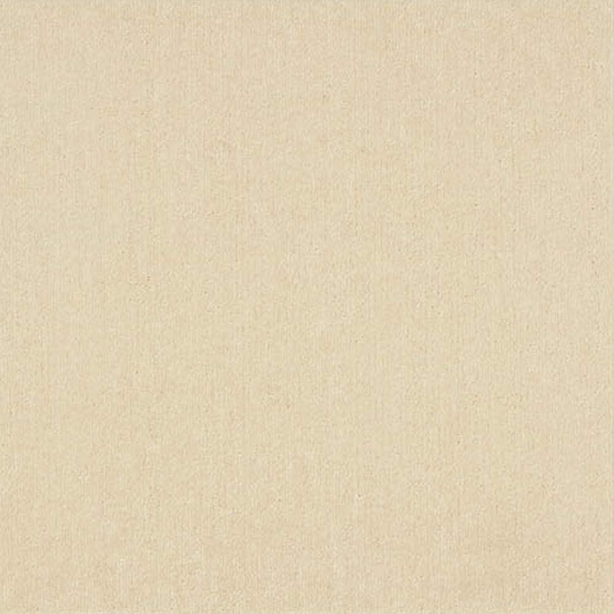 肥満返済部屋を掃除する【洗える】スミノエタイルカーペット R-2000 プレーン 50×50cm 4枚入り 2001(アイボリー)