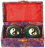 Qi Gong palla, Yin Yang blu 45 mm