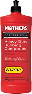 Mothers 81232 Professional Heavy Duty Rubbing Compound- 32 oz, Red