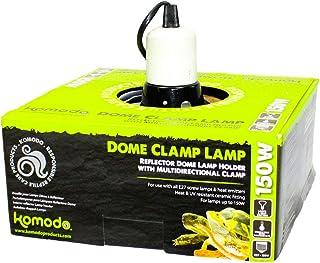 Komodo Dome Clamp Lamp Fixture 21cm