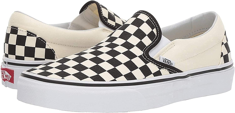 Vans Classic Slip-on (5.5 B(M) US Women / 4 D(M) US Men, Checkerboard)