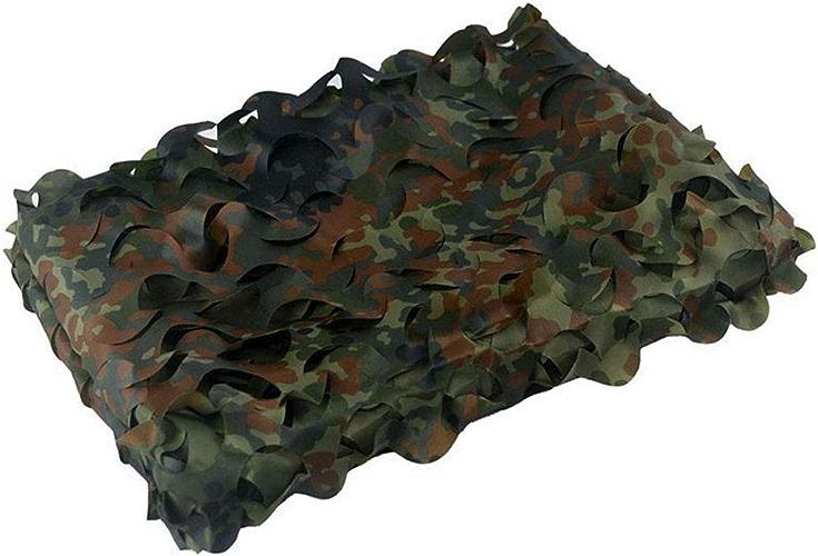 Filet de Camouflage 3Mx2M - Tissu Oxford approprié à la densité cachée par la Chambre à Coucher avec Abat-Jour Chasse à la rosée (Couleur   1.5M×10M)