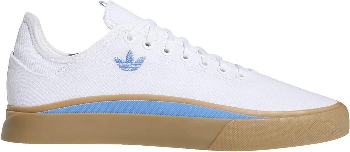 adidas Sabalo Chaussures pour Homme, Blanc (Nuage Blanc/Bleu ...