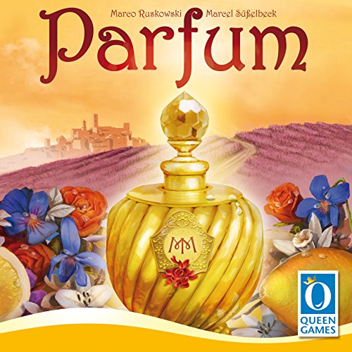 Queen Games 10140 - Gioco da Tavolo Parfum [Lingua Tedesca]