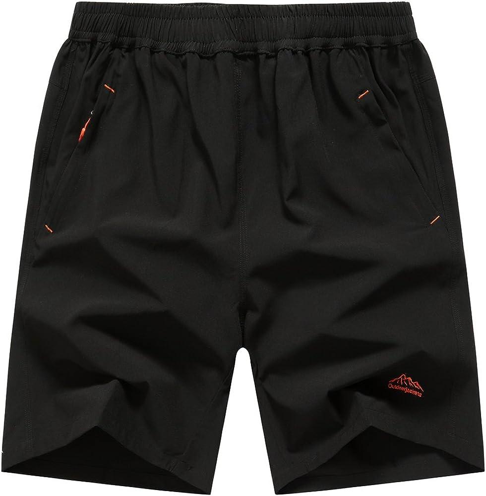 JINSHI Men's Outdoor Quick Dry Shorts Sports Quantity Ranking TOP12 limited Zipper Lightweight