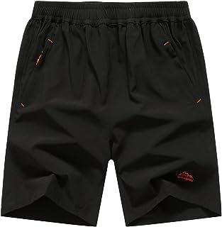 Men's Outdoor Quick Dry Lightweight Sports Shorts Zipper...