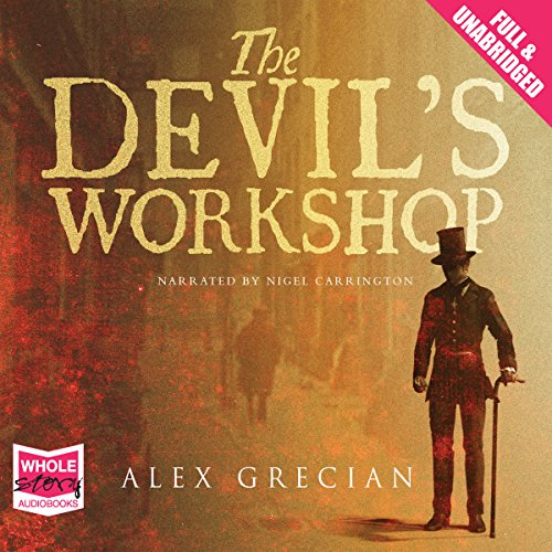 The Devil's Workshop audiobook cover art