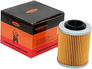 Yerbay Motorcycle Oil Filter for Bombardier DS 650 2001-2006 / DS650 Baja 650 2002-2004