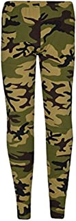 Girls Kids Boys Dance Swimming Gymnastics Fitted Stretch Microfibre Leggings Age 5-12 Years