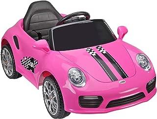 TOBBI 6V Electric Kids Ride on Car Licensed MP3 Remote Control Pink