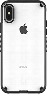 PATCHWORKS LEVEL VISION iPhone XS/X ケース [クリア/ブラック]