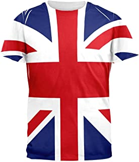 British Flag Union Jack All Over Mens T Shirt