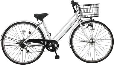 C.Dream(シードリーム) ココオートライト CC76-H 27インチ自転車 シティサイクル ホワイト 6段変速 100%組立済み発送