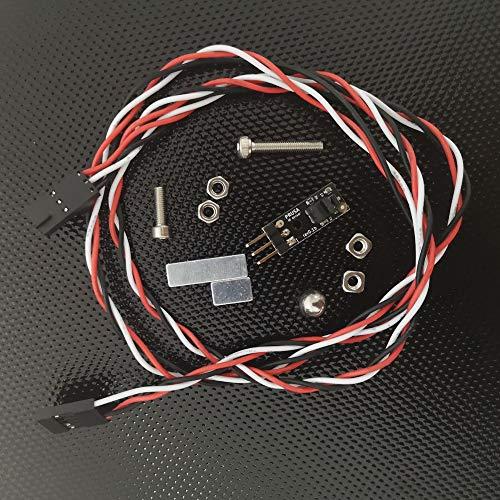 Sensor de filamento IR IR con bola de acero, imanes, kit de tornillos para impresora 3D Prusa i3 MK2.5/MK3 a MK2.5s/MK3s Upgrade