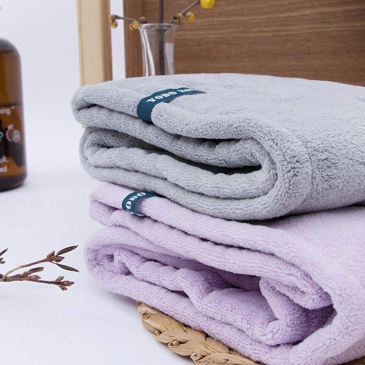 お酒液化する受粉者WYMAI キャップ、コットンドライヘアーキャップ、ロングヘアフード付きシャワーキャップ、シャンプーや速乾性シャワーキャップ、2層超厚手のスタイルから選択する色のAバラエティシャワー シンプルで実用的な製品 (Color : Purple)