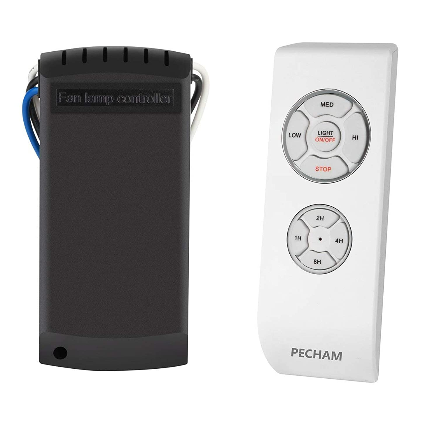 PECHAM Universal Lamp Kit & Timing Wireless Remote Control for Ceiling Fan, Scope of Application [Home/Office/Hotel/The Club/Display Hall/Restaurant] kzfgfpkrz