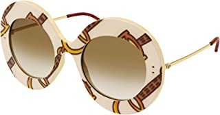 Gucci GG0894S Ivory Brown/Brown Shaded 53/22/140 women Sungl